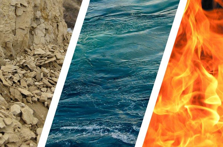 Erde Wasser Feuer Urelemente Deiner Energie Yoga Connection