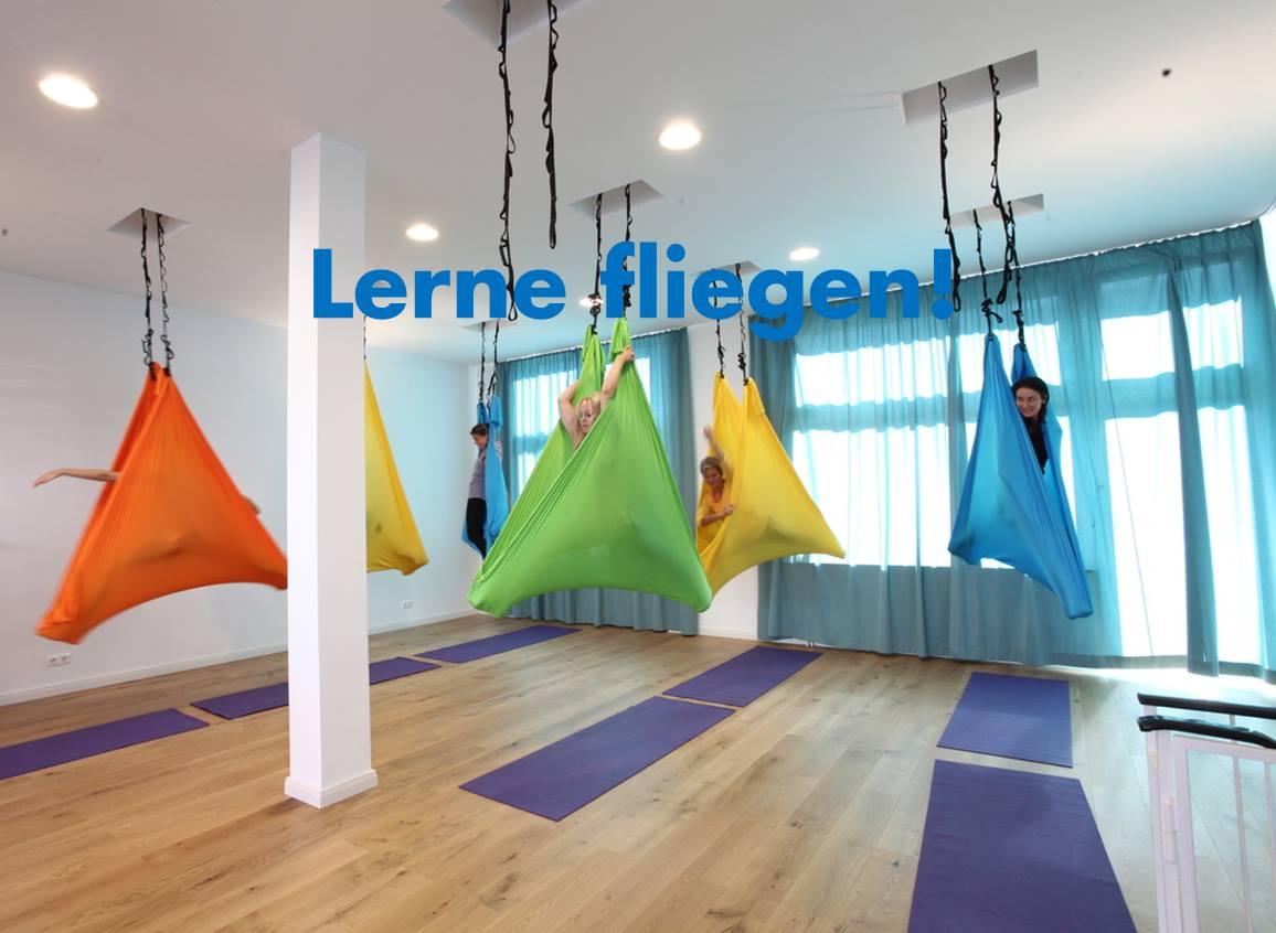Aerial-Yoga-Workshop mit Hannah und Mira   Yoga Connection